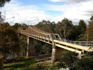 Fairfield Pipe Bridge over Yarra